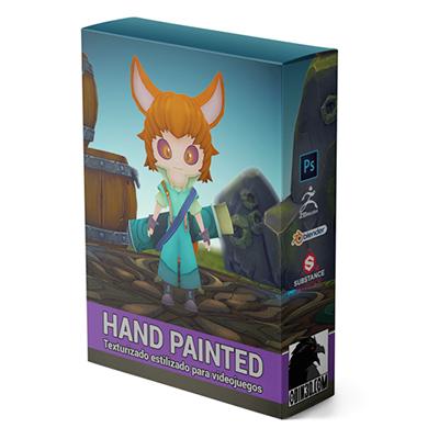 Curso de Hand Painted O3D+ | Texturizado estilizado para videojuegos