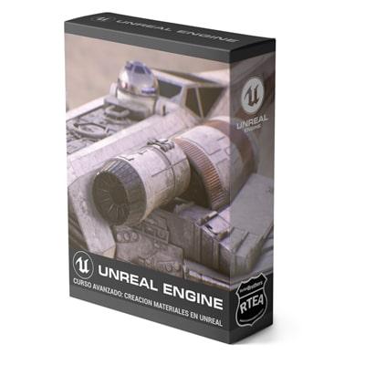 Curso Avanzado Creación de Materiales UNREAL ENGINE +XTRAS